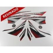 Kit Adesivos Lander 250 2011 Vermelha Resinado