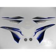 Kit Adesivos Lander 250 2012 Azul Resinado
