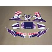 Kit Adesivos Yamaha Dt200r 1997 Branca