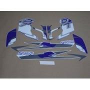 Kit Adesivos Yamaha Dt200r 1998 Azul