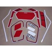 Kit Adesivos Yamaha Dtn180 1987 Preta