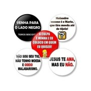Kit Buttons Frases