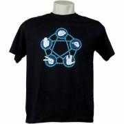 Camiseta Pedra Papel Tesoura Lagarto Spock