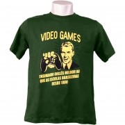 Camiseta Vídeo Games