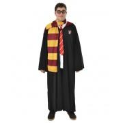 Fantasia Harry Potter / Hermione - Capa Grifinória + Gravata + Cachecol + Óculos
