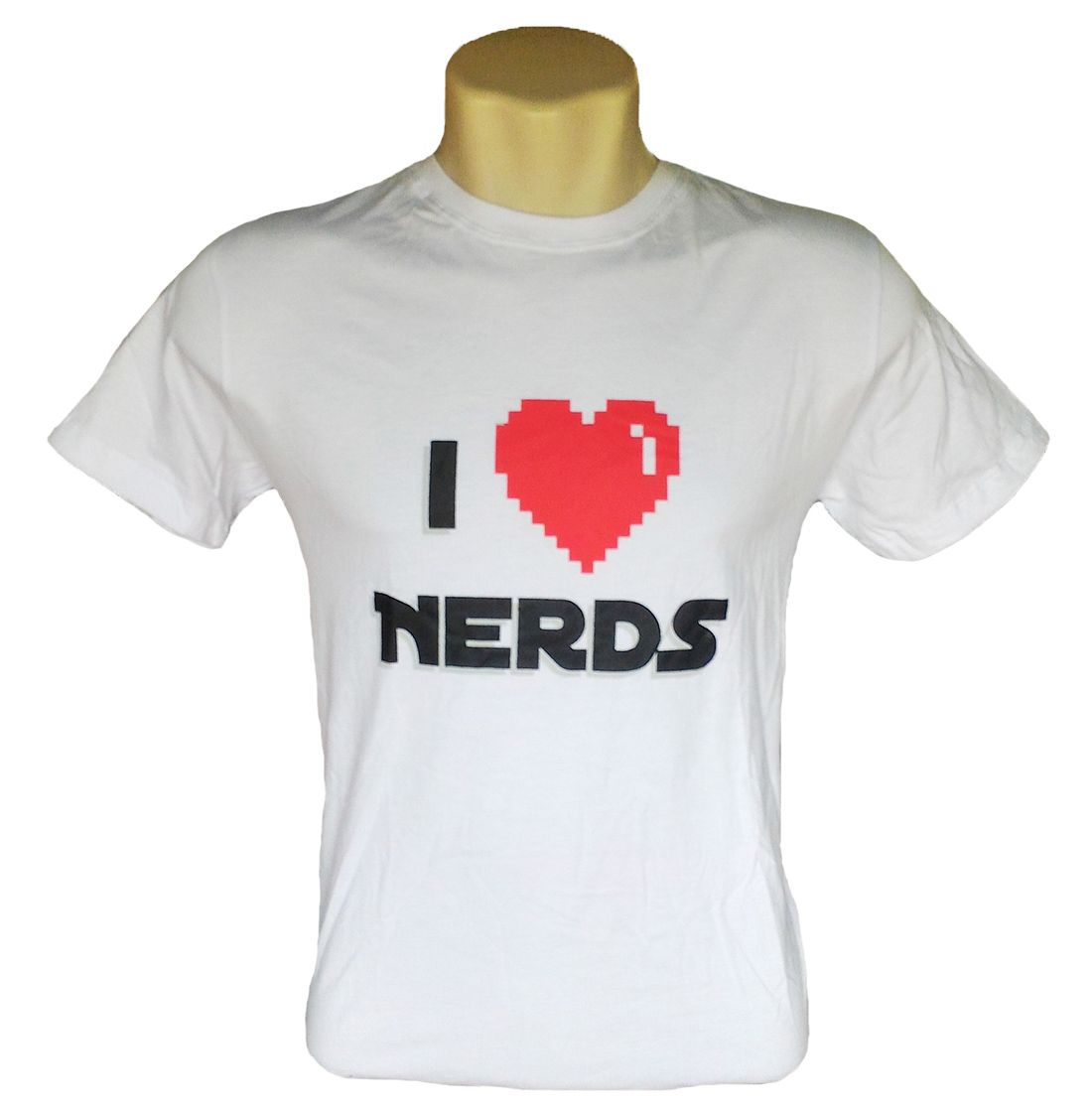 Camiseta I Love Nerds