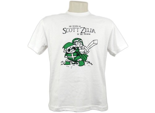 Camiseta Scott Zelda