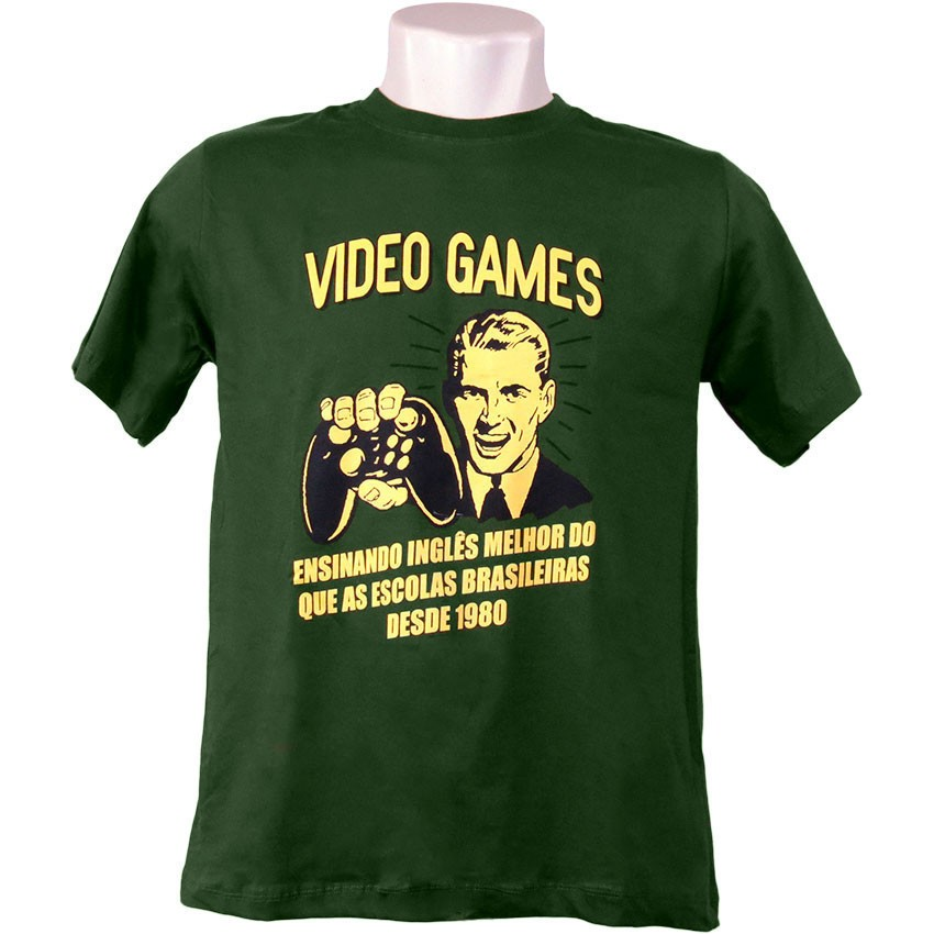 Camiseta Vídeo Games
