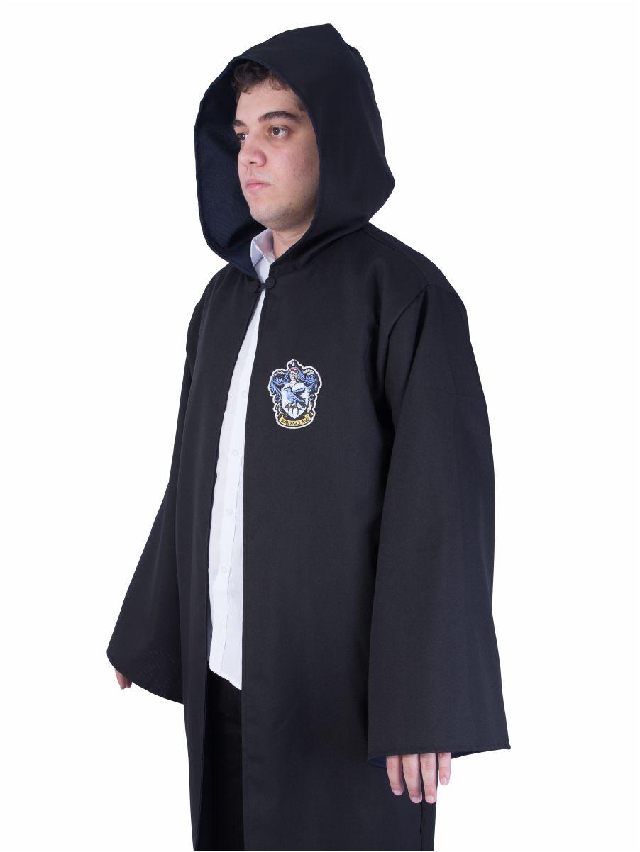 Capa / Manto Corvinal - Harry Potter - Cosplay (Fantasia)