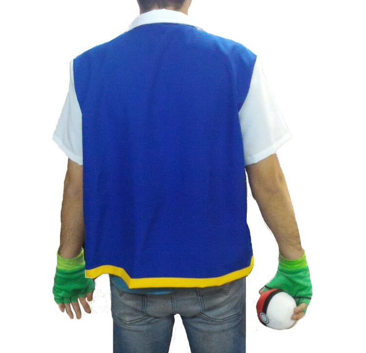 Colete do Ash - Pokémon - Cosplay