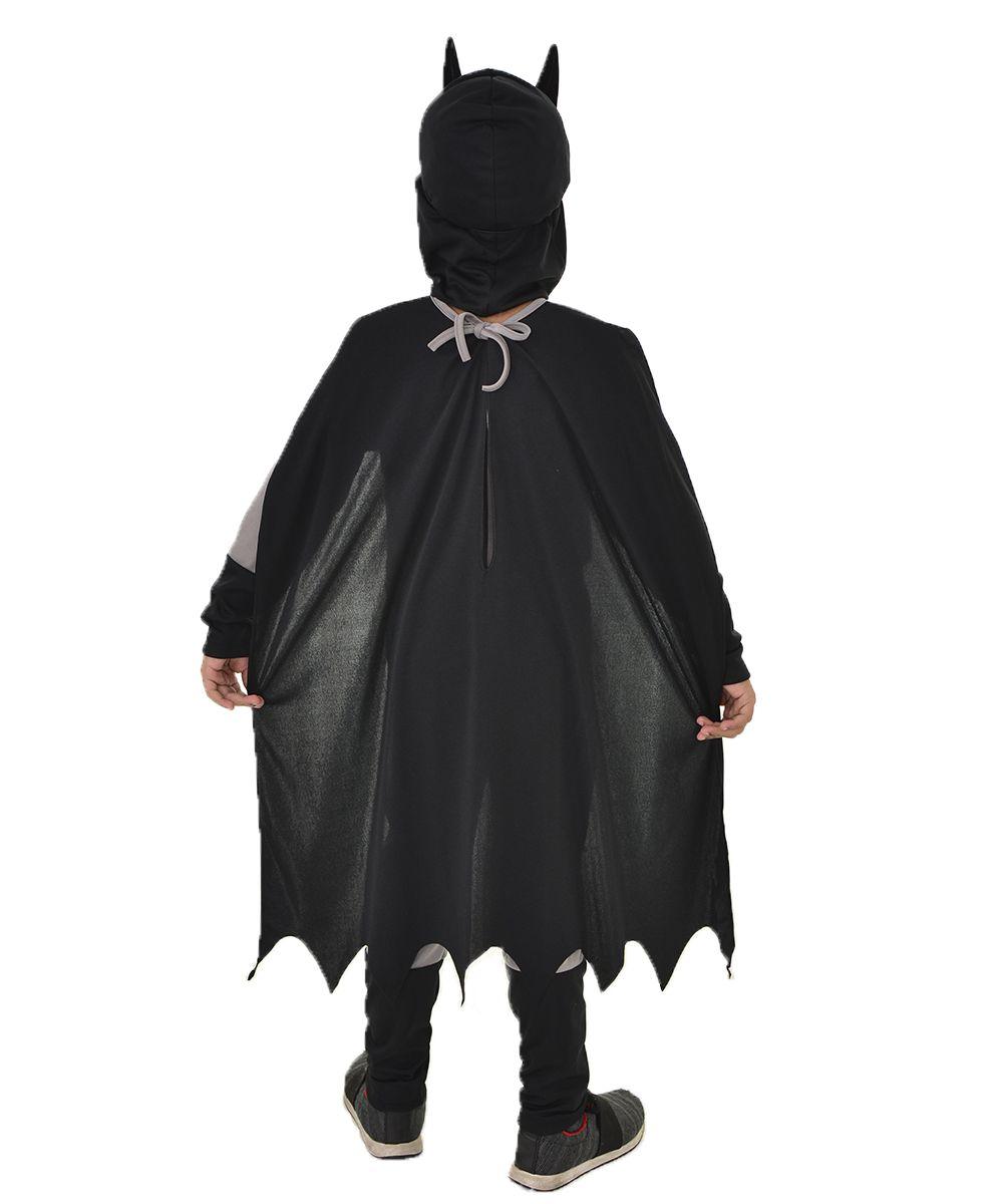 Fantasia Batman Original - Capa + Máscara + Cinto