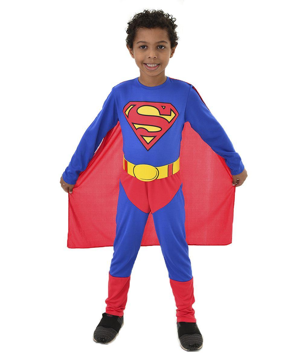 Fantasia Superman - Super Homem Original - Capa + Cinto