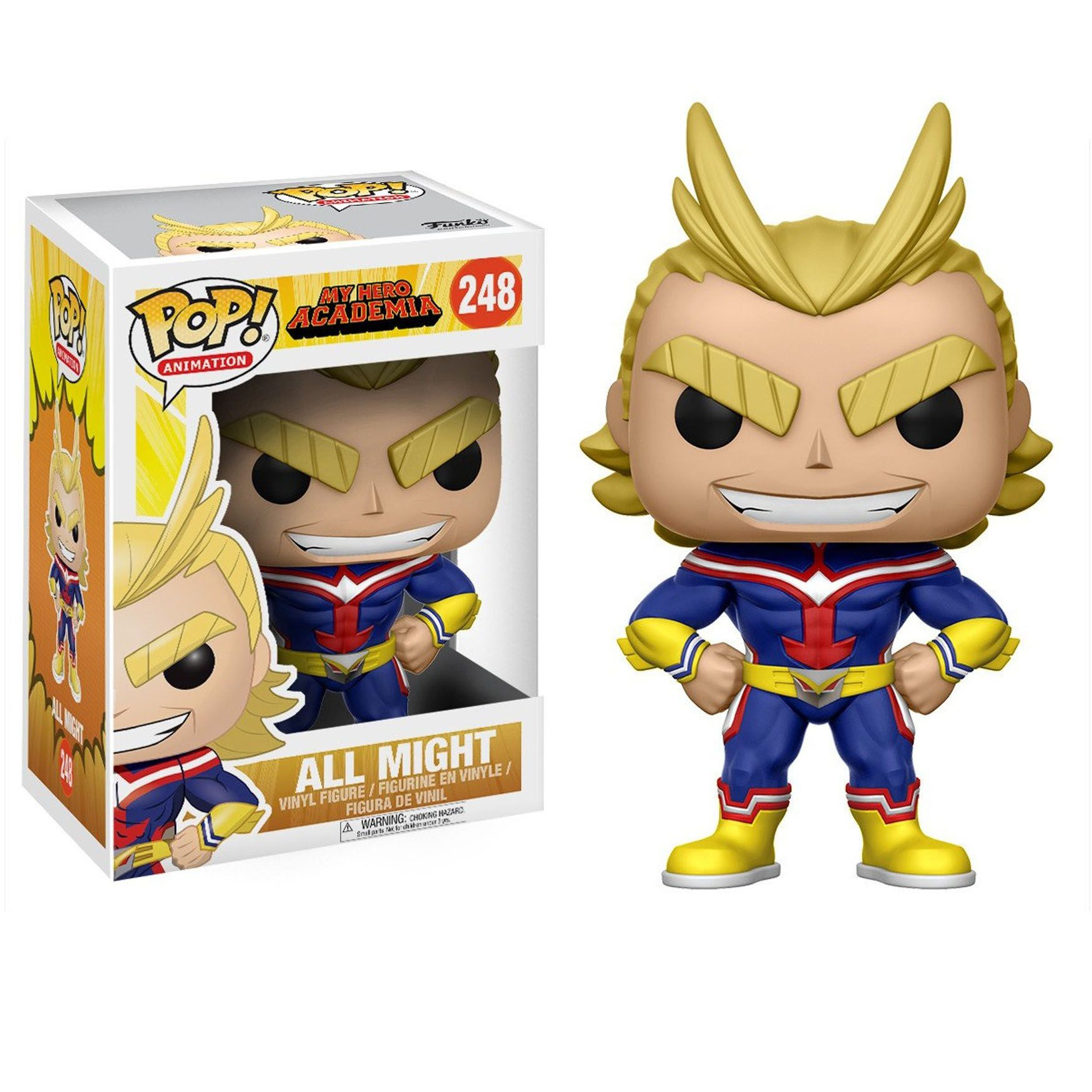 Funko Pop 248 - All Migth - Boku no Hero - My Hero Academia