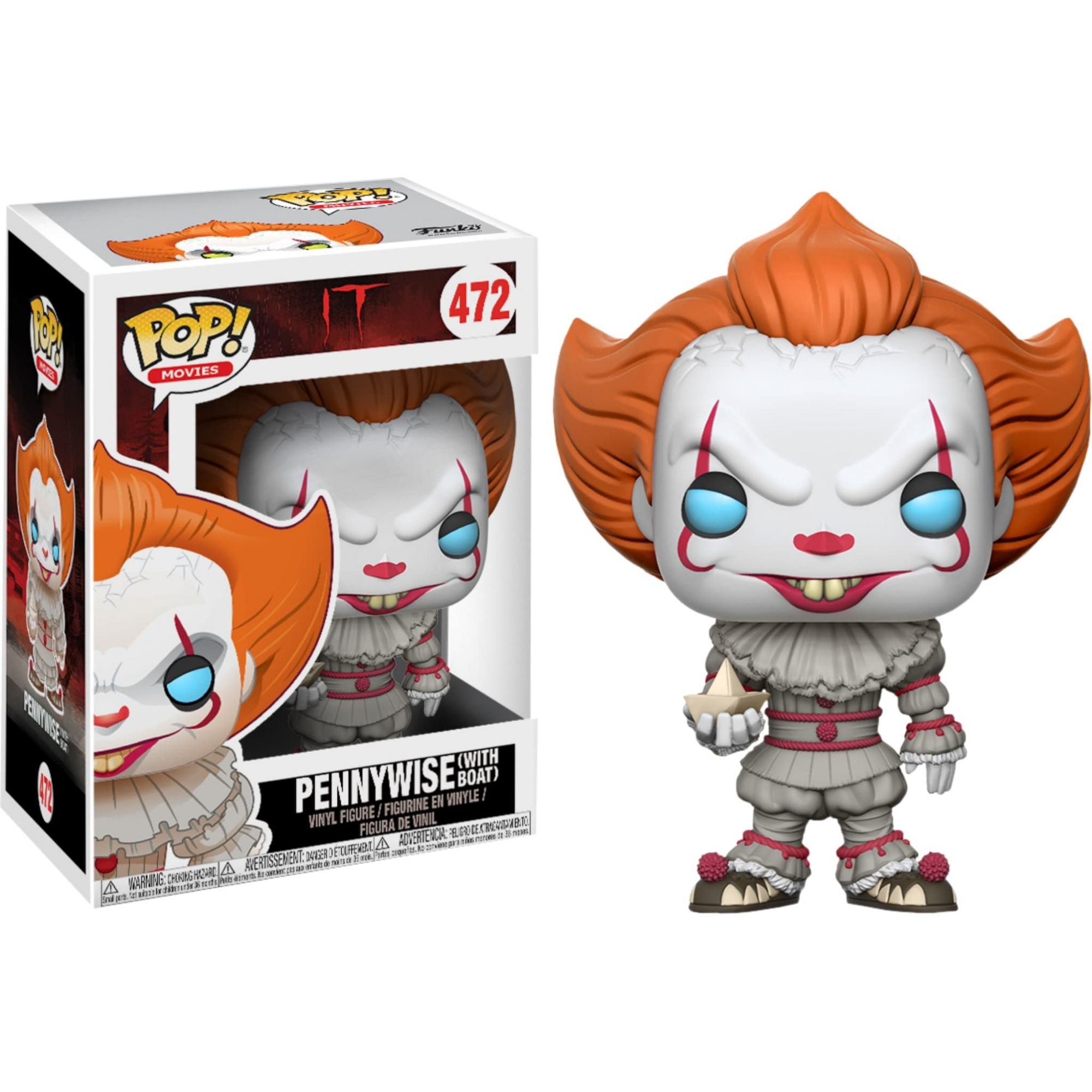 Funko Pop 472 - PennyWise - It A Coisa