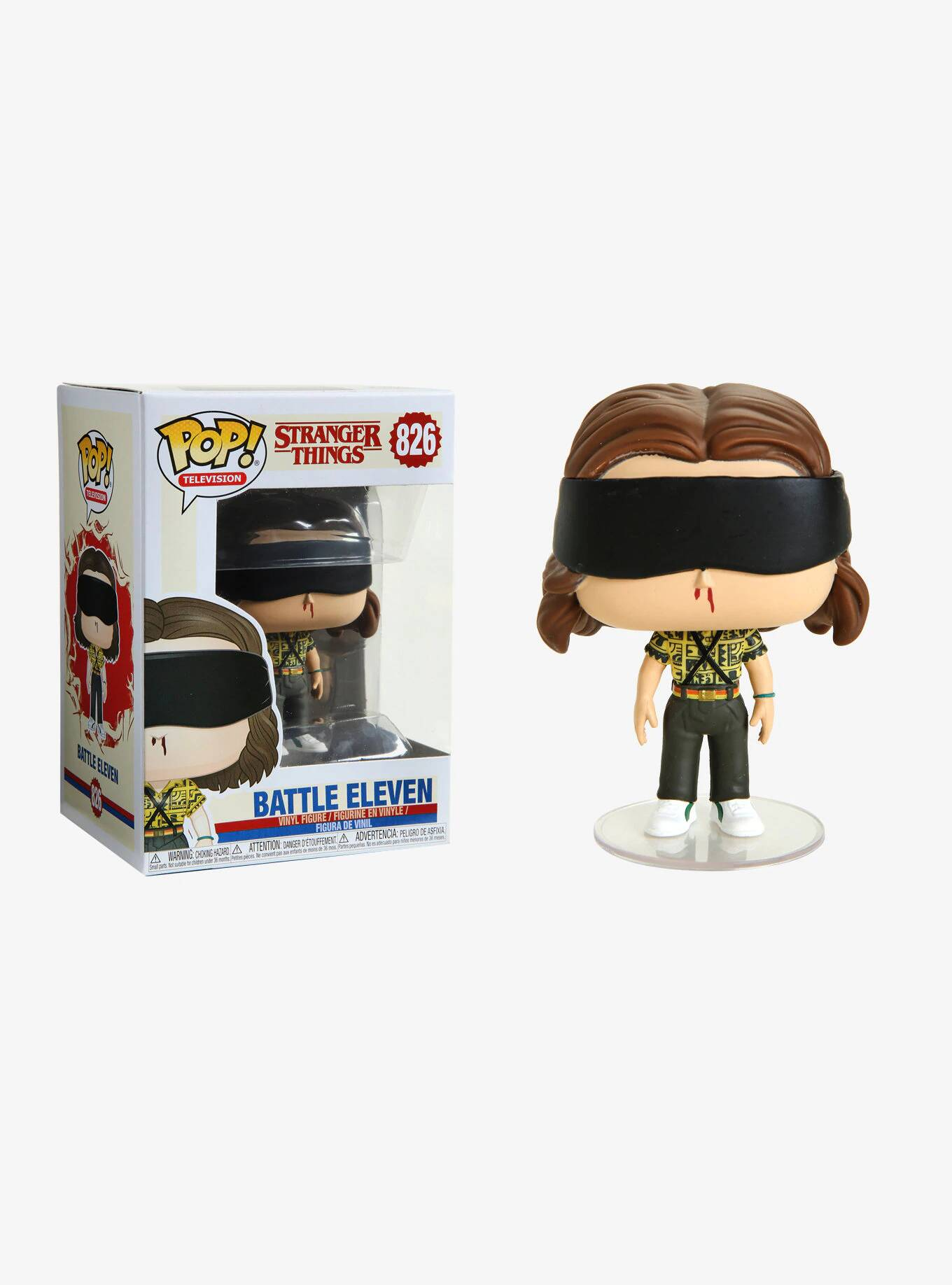 Funko Pop 826 - Battle Eleven - Stranger Things - 3ª Temporada  - Lançamento