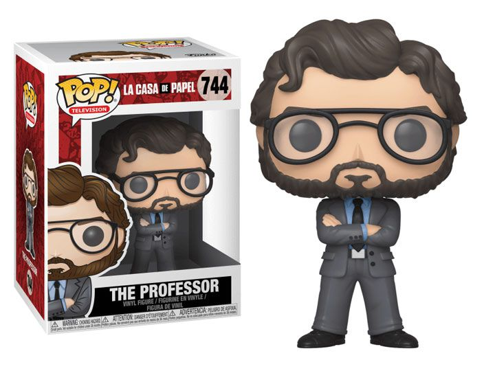 Funko Pop - The Professor - La Casa de Papel
