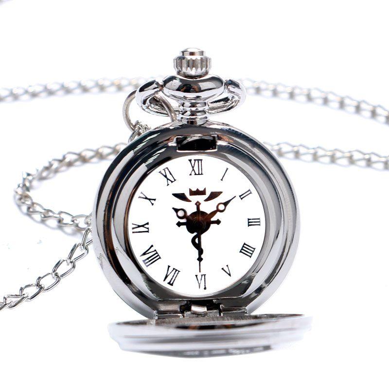 Relógio Fullmetal Alchemist - Relógio de bolso - Colar