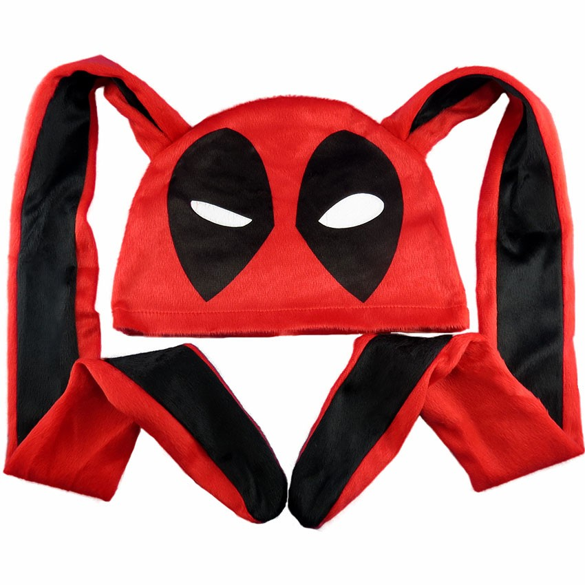 Touca Deadpool Orelhão