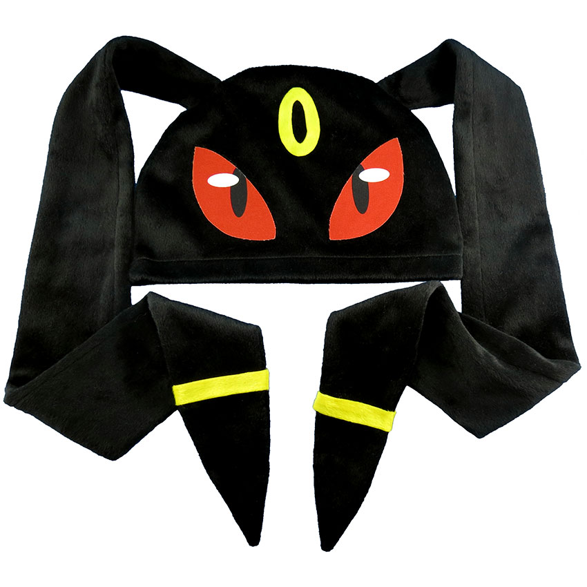 Touca Umbreon Orelhão - Pokémon