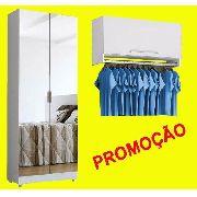 Sapateira Espelho + Aéreo Cabideiro+ F.grát*