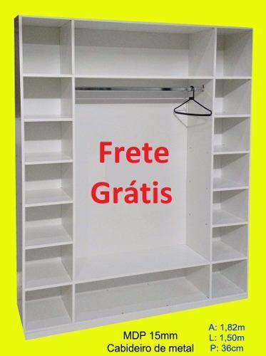 3 Expositor Loja Roupa Vitrine Closed = Frete Grátis*