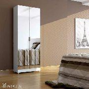 Sapateira Espelho + Sapateira Lip + Aéreo Cabideiro Magia Móveis