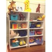Caixa Organizador Estante Prateleiras Brinquedos Pietra