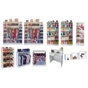 Expositores Para Loja De Roupa Boutique 12 Peçs Magia Móveis