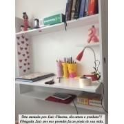 Mesa Notebook Suspensa, Mesa De Parede, Mesa Estudos Canadá
