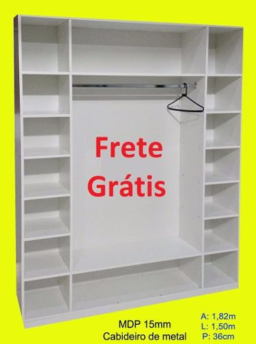 6 Expositor Loja Roupa Closed = Promoção + F.grátis*