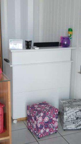 Expositor De Roupa Cabide Arara + Balcão De Atendimento Loja Magia Móveis