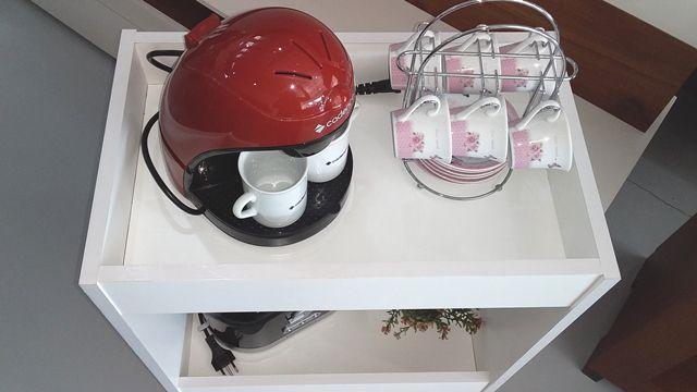 Carrinho para Café, Armário para Café, Cantinho do Café - Éva