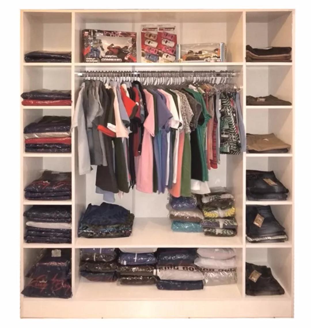 Colméia Ana para roupas