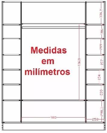 Expositor Armario Nichos,Cabideiro loja Ana Branco