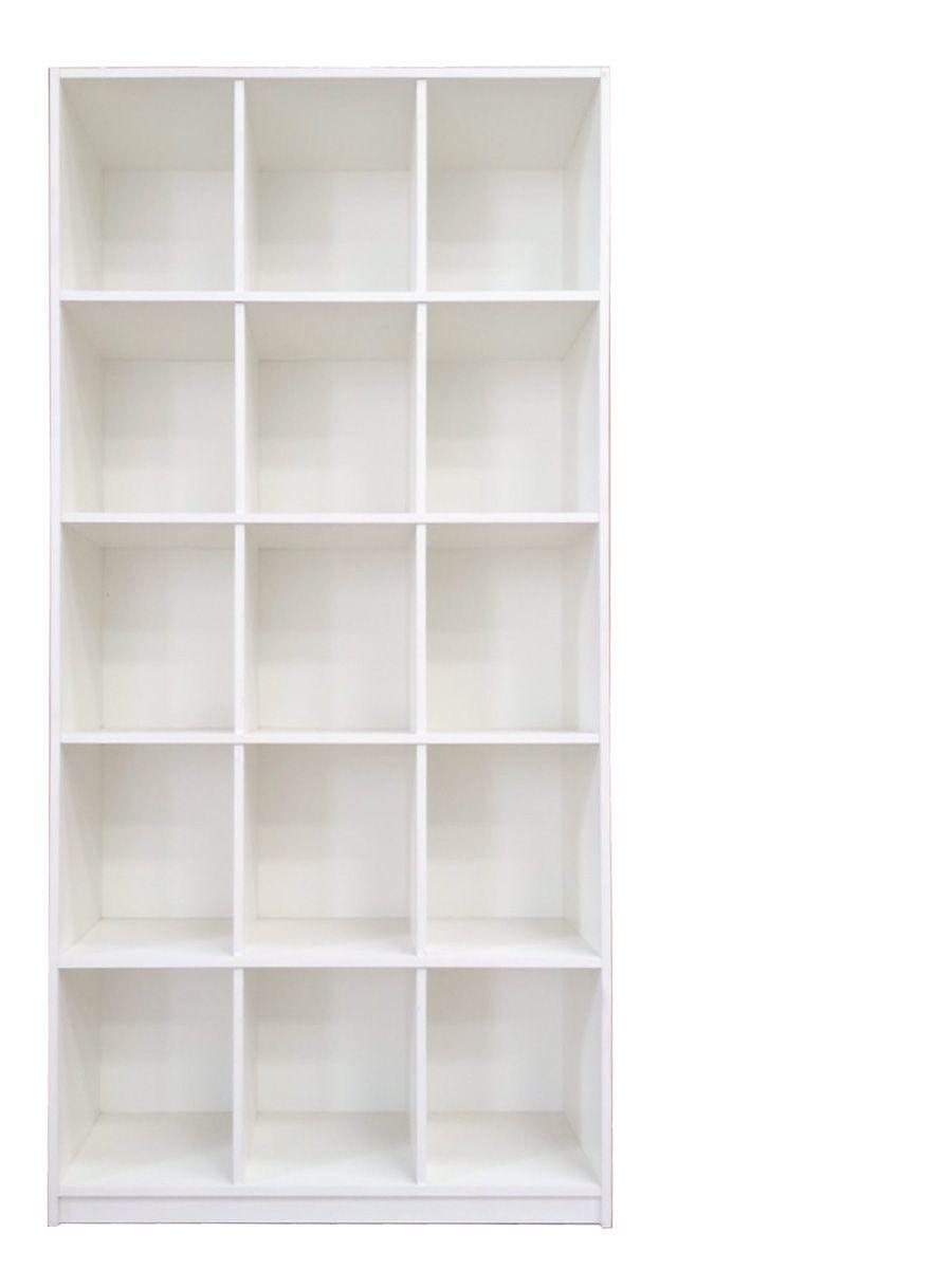 Armário Expositor Magia Móveis Bia Branco Colméia 15 Nichos