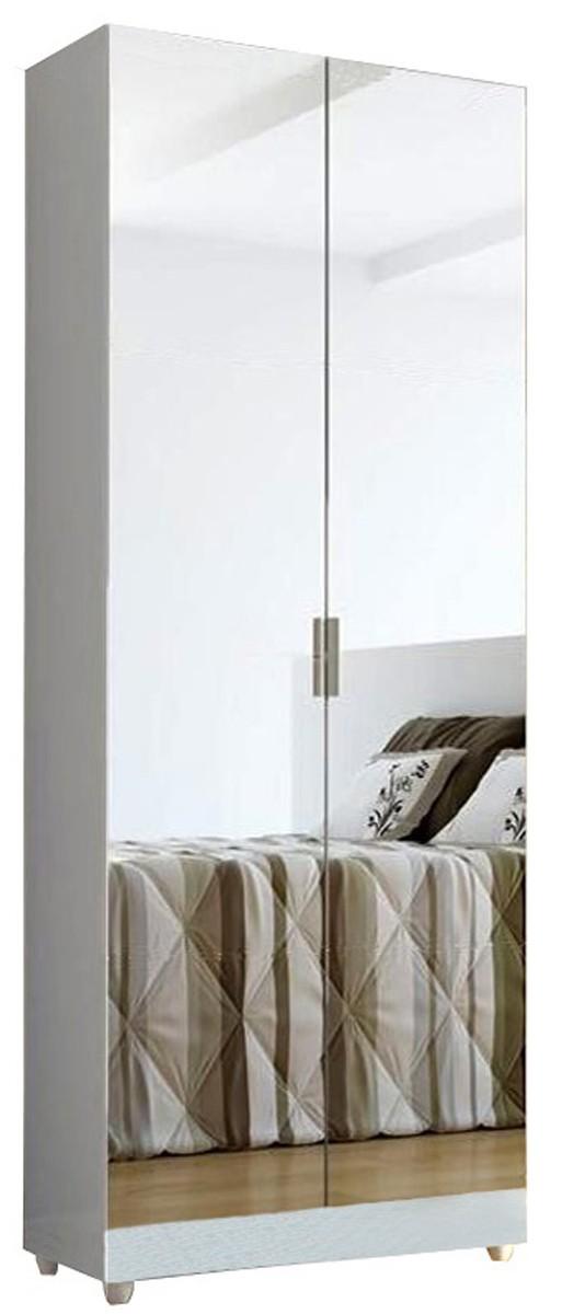 Sapateira com Espelho 2 portas Magia - BRANCA - Linda, cheia de prateleiras. Magia Móveis