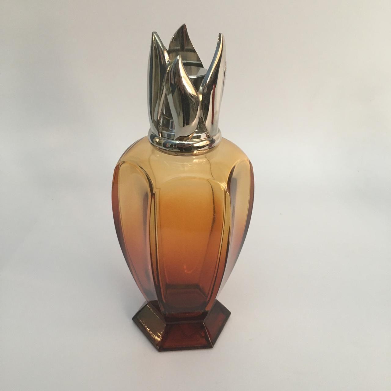 Lamparina Athena Ambre 19cm 280ml