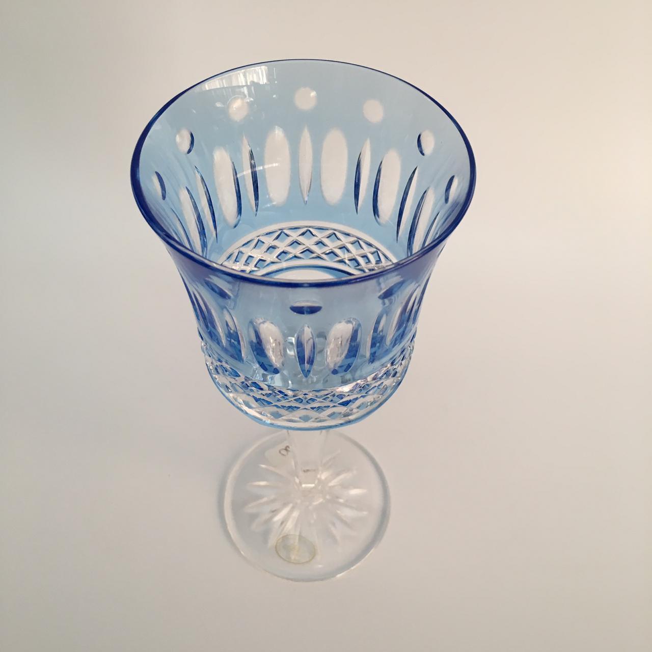 Taça para água em cristal