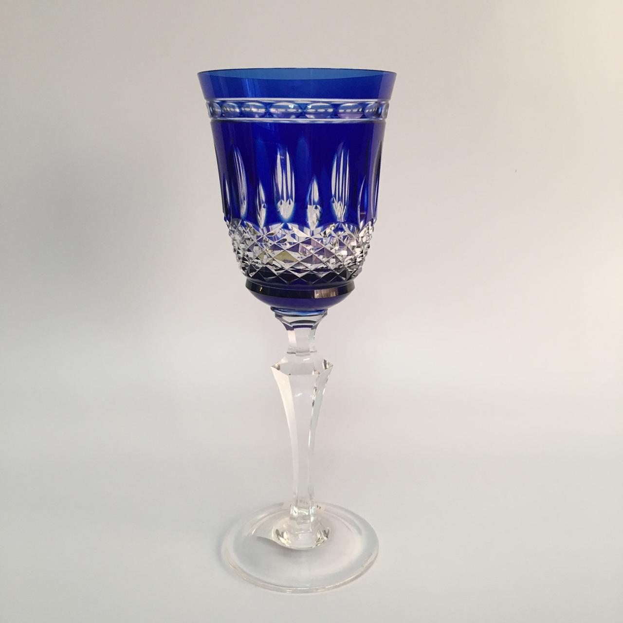 Taca vinho branco cristal
