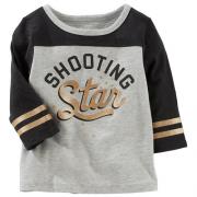 Camisa Star Listra Dourada - OSHKOSH B´GOSH
