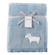 Cobertor Carter´s Cachorrinho  - Manta quentinha fleece/ plush