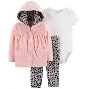 Conjunto Inverno Jaqueta -  Animal Print Luxury Carter´s