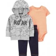 Conjunto Inverno 3 Peças Carter's - Capuz Roar (jaqueta)