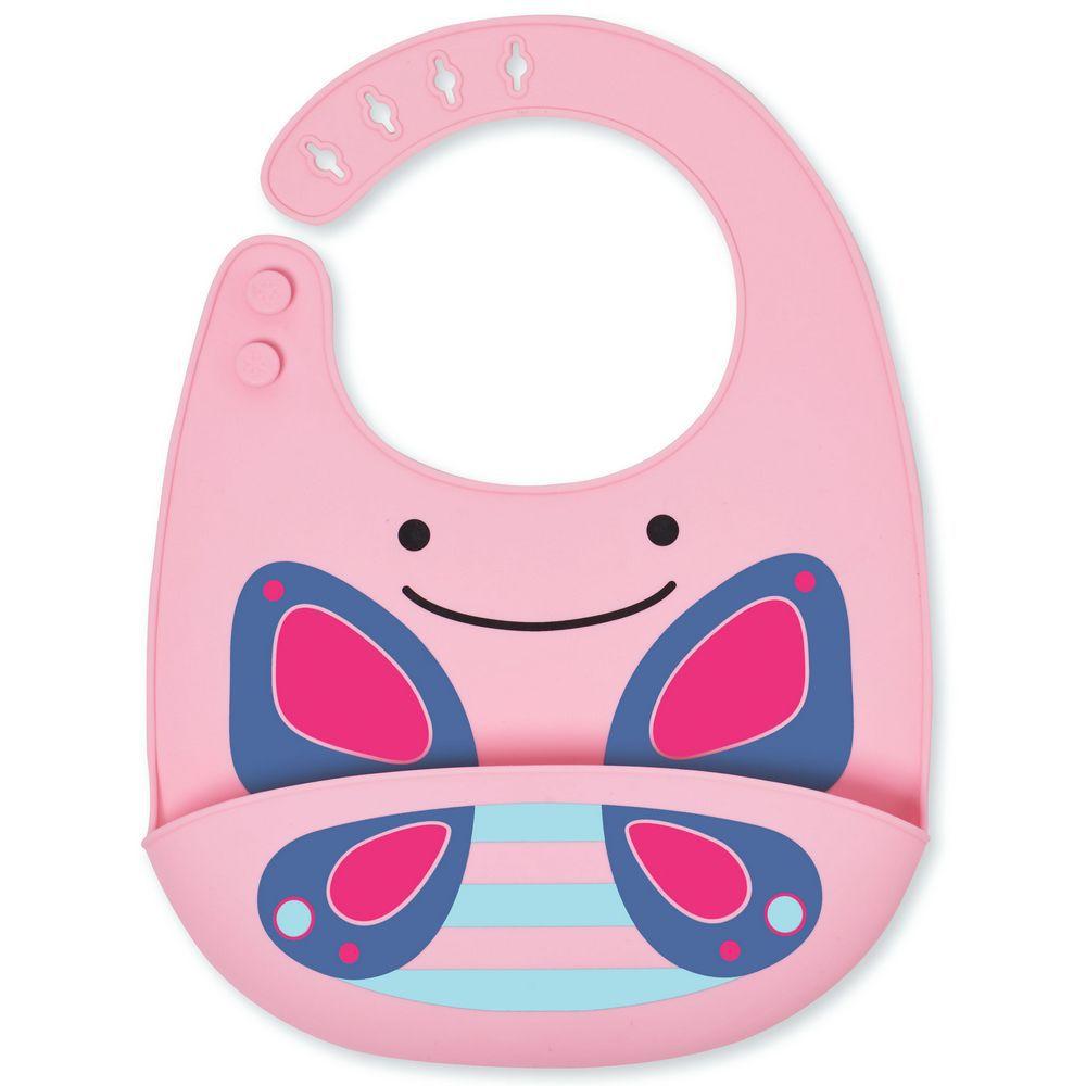 Babador Silicone  Skip Hop - Borboleta - Blossom Butterfly