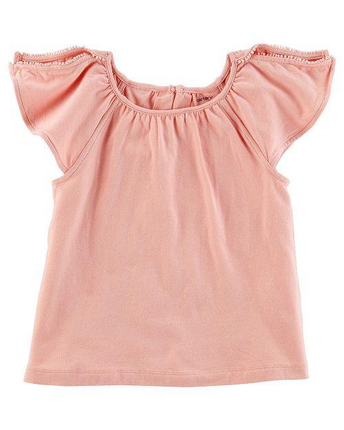Blusinha Carter´s Rosé Camisa