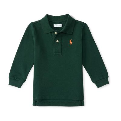 Camisa Polo Ralph Lauren Baby MANGA LONGA