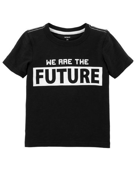 Tee We Are The Future Carter´s