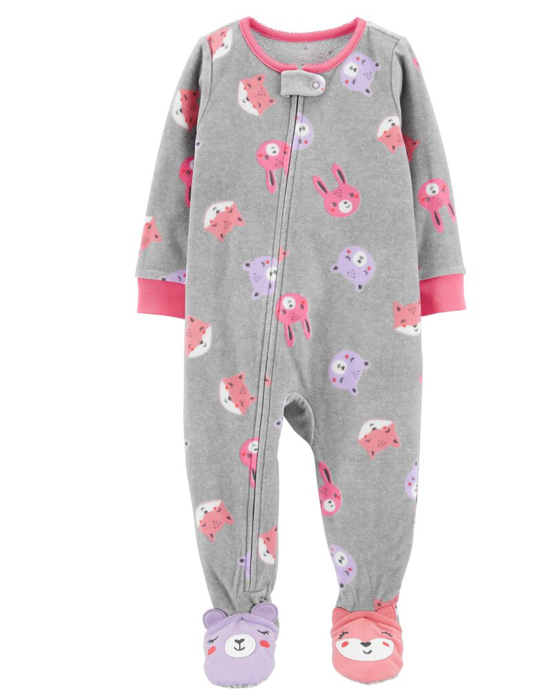 Carters Pijama Fleece 2 anos - Bunny Baby Girl