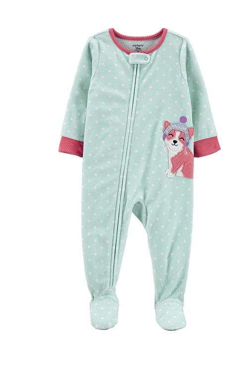 Carters Pijama Fleece 2 anos - Dog Baby Girl