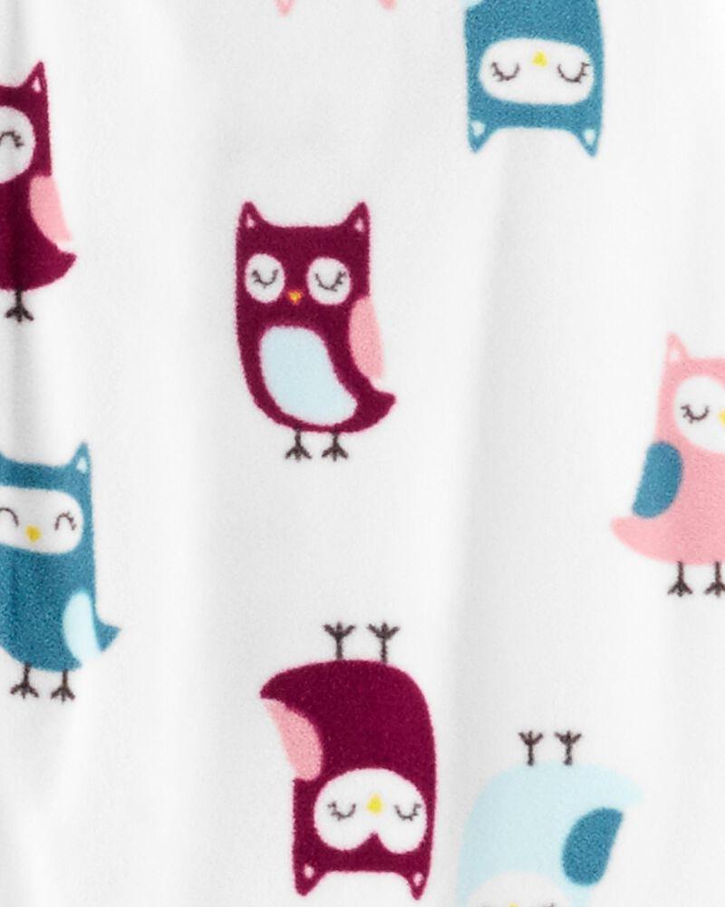 Carters Pijama Fleece Corujinha
